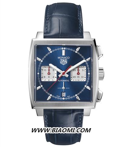 TAG Heuer泰格豪雅Monaco(摩纳哥系列)腕表搭载全新自制机芯,引领前卫先锋制表技艺 名表赏析 第5张