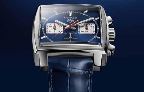 TAG Heuer泰格豪雅Monaco(摩纳哥系列)腕表搭载全新自制机芯,引领前卫先锋制表技艺