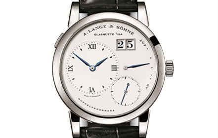 LANGE 1精钢腕表创下拍卖记录 朗格于富艺斯拍卖会为珍罕腕表缔造瞩目价值