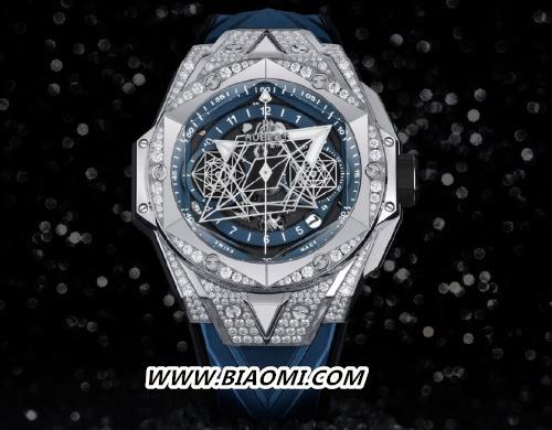 宇舶推出Big Bang Sang Bleu II刺青蓝色腕表 Big Bang LVMH 宇舶 名表赏析  第2张