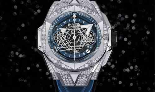 宇舶推出Big Bang Sang Bleu II刺青蓝色腕表