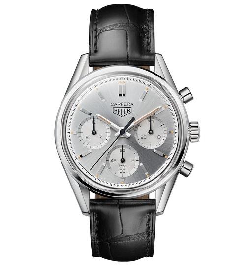 泰格豪雅推出卡莱拉系列Heuer02银色限量腕表 名表赏析 第1张