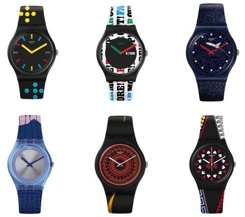 007推出与Swatch联名腕表