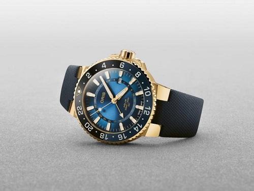 纯金腕表?这款豪利时首款纯金限量潜水表如何? 名表赏析 第1张