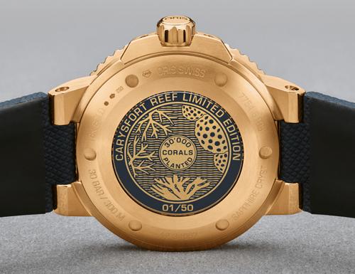 纯金腕表?这款豪利时首款纯金限量潜水表如何?