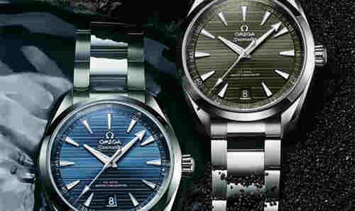 欧米茄推出全新海马系列Aqua Terra至臻天文台腕表