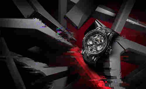 Roger Dubuis罗杰杜彼 全黑Excalibur Huracán腕表时尚出击