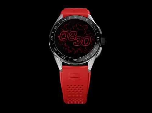 以爱为名 TAG Heuer泰格豪雅Connected智能腕表 以红色 献礼520 名表赏析 第1张