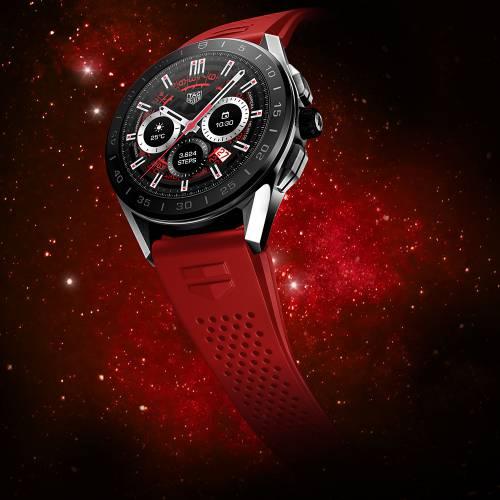 以爱为名 TAG Heuer泰格豪雅Connected智能腕表 以红色 献礼520 名表赏析 第2张