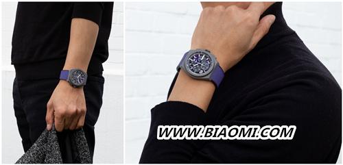 甄选活力色彩 开启全新篇章 ZENITH 真力时推出品牌首款紫色计时机芯限量腕表 DEFY 21 ULTRAVIOLET 大飞 真力时 热点动态  第3张
