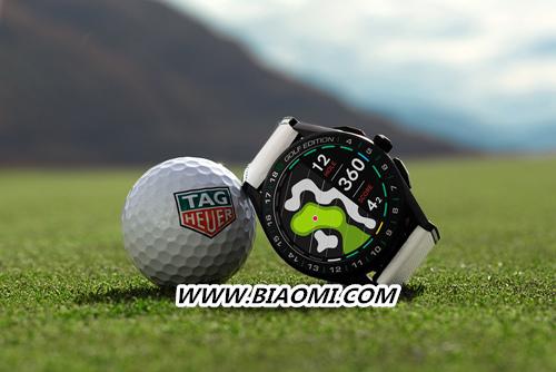 TAG Heuer泰格豪雅推出第三代奢华智能腕表特别版 助力高尔夫爱好者在球场上更进一步 智能腕表 泰格豪雅 智能手表  第1张