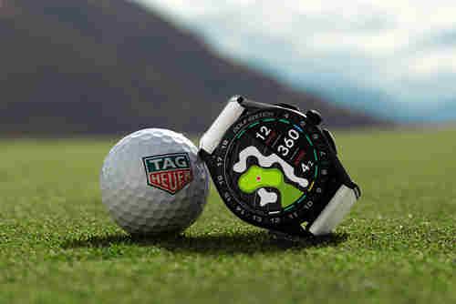 TAG Heuer泰格豪雅推出第三代奢华智能腕表特别版 助力高尔夫爱好者在球场上更进一步