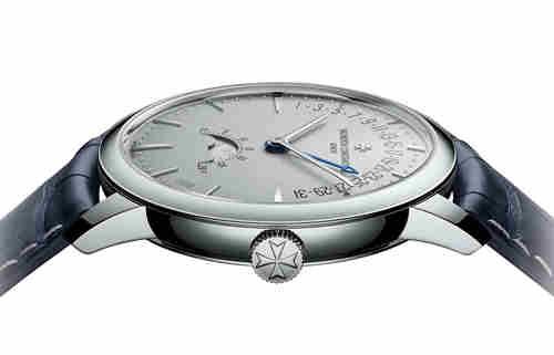 江诗丹顿传承系列新款月相逆跳日历腕表 首枚铂金款