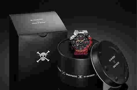 卡西欧《海贼王》联动 推出路飞主题GA-110腕表
