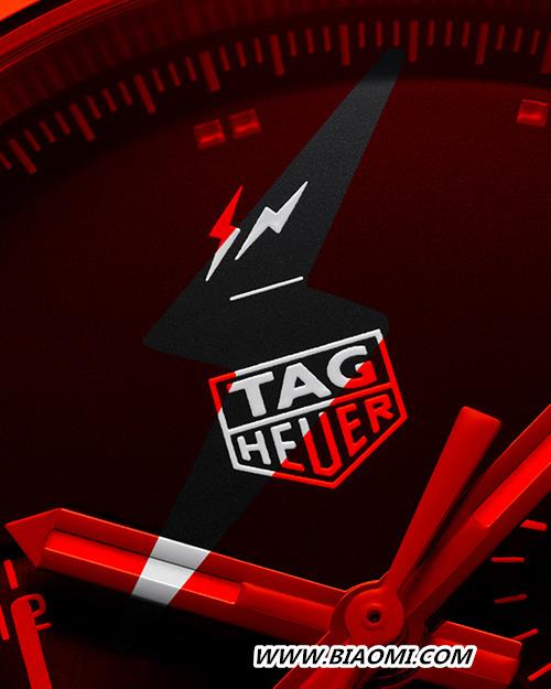 泰格豪雅再度携手FRAGMENT DESIGN创始人藤原浩 推出灵感源自赛车运动的限量版时计 名表赏析 第4张