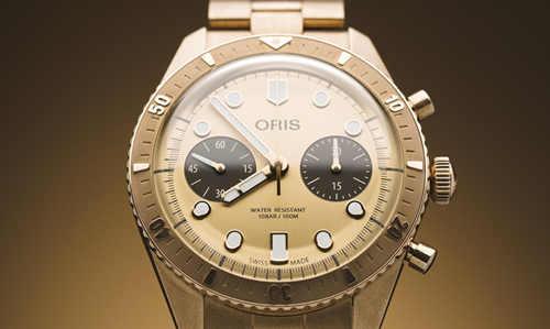豪利时荷尔斯泰因限量版腕表2020  全青铜材质让皮肤沾染青铜纹路?