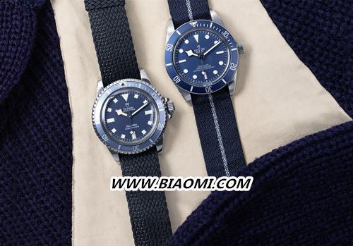 """帝舵碧湾1958型""""海军蓝"""" 今年手表流行蓝色? 碧湾 帝舵 名表赏析  第1张"""