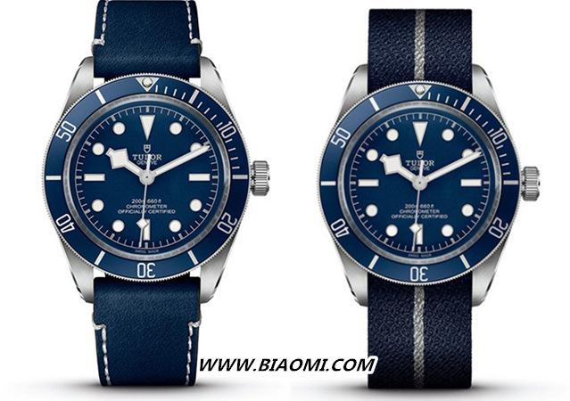 """帝舵碧湾1958型""""海军蓝"""" 今年手表流行蓝色? 碧湾 帝舵 名表赏析  第3张"""