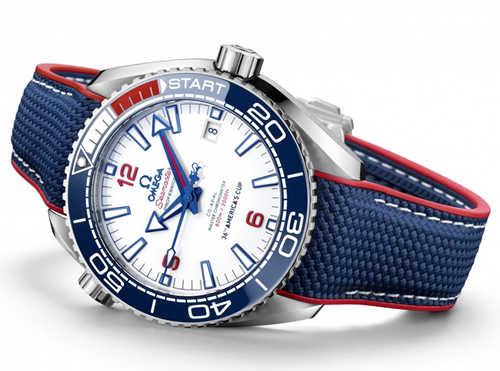 除了黑蓝绿,潜水表还可以这样操作——欧米茄 第36届美洲杯帆船赛限量版潜水腕表