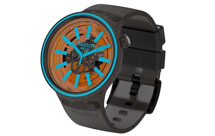 Swatch 推出全新 BIG BOLD SPECTRUM 腕表系列 色彩艳丽