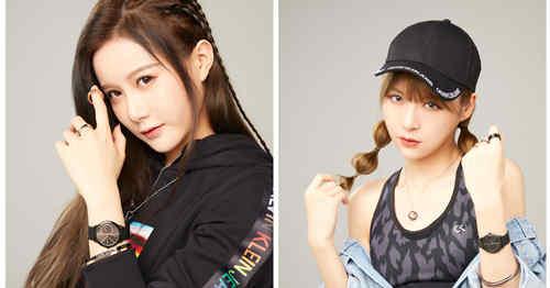 BEJ48-段艺璇及SNH48-张语格,『饰』不可挡,在线狙击你的心!CALVIN KLEIN 盛夏饰品节要你好看