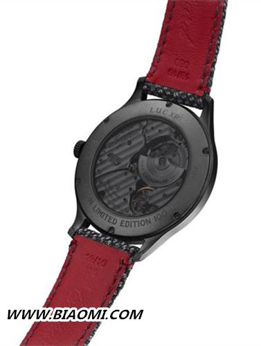 萧邦L.U.C XP Il Sarto Kiton腕表 首次与西装品牌合作的款式 L.U.C 萧邦 名表赏析  第3张