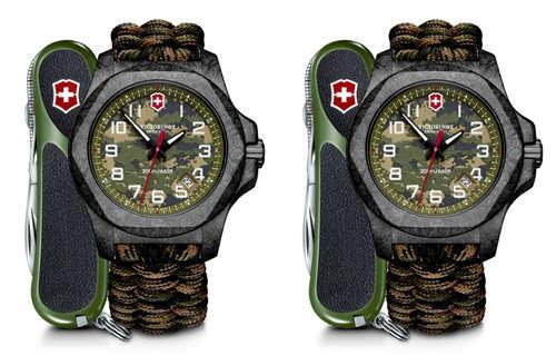 迷彩I.N.O.X. 碳纤维限量版腕表,霸气登场
