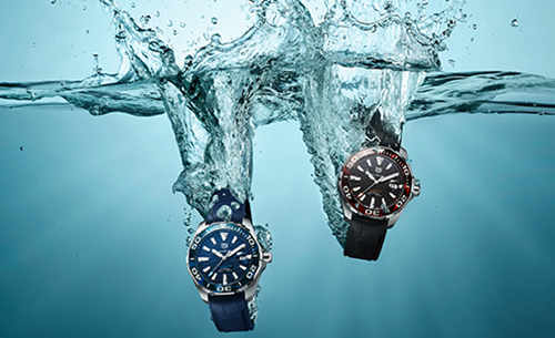 TAG Heuer泰格豪雅推出全新竞潜系列(Aquaracer)腕表