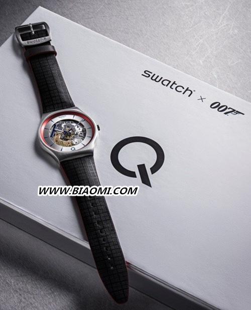 Swatch再度联名007 ²Q 限量腕表科技感十足? Q Swatch 007 斯沃琪 热点动态  第2张