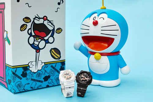 BABY-G 与哆啦A梦合作 推出联名款