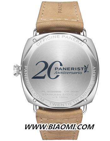 实力宠粉沛纳海 Paneristi20周年为粉丝推出什么表? 镭得米尔 沛纳海 热点动态  第3张
