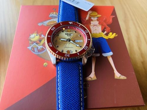 精工 SEIKO 与航海王 路飞联名款手表 限定3000枚 开箱!