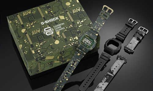 G-SHOCK 5600 经典系列再出新品 可换装的腕表?