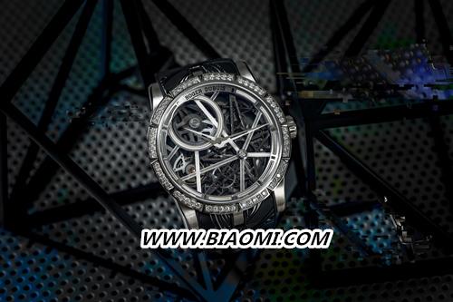 Roger Dubuis罗杰杜彼Excalibur Blacklight腕表——点亮霓虹都市 Excalibur 罗杰杜彼 名表赏析  第3张