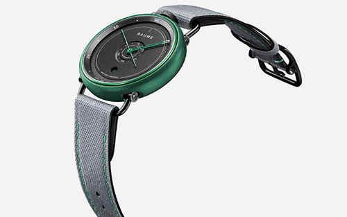 名士发布BAUME奔系列海洋限定款腕表