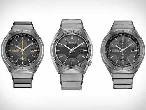西铁城全新超级钛装甲腕表 为今年第一支钛金属腕表50周年