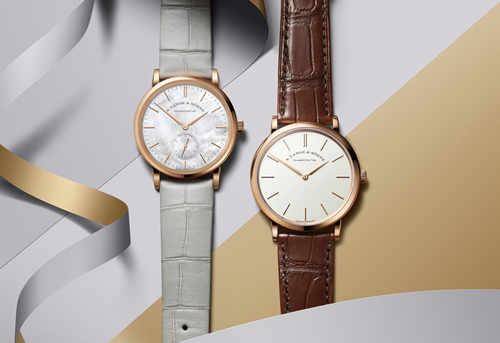 朗格SAXONIA萨克森腕表与SAXONIA萨克森纤薄腕表