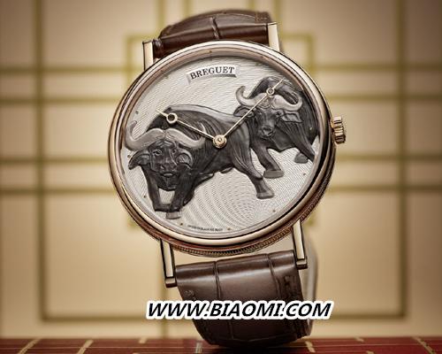 宝玑Classique经典系列7145辛丑年生肖腕表 把两头牛戴在腕上 经典系列 宝玑 名表赏析  第1张