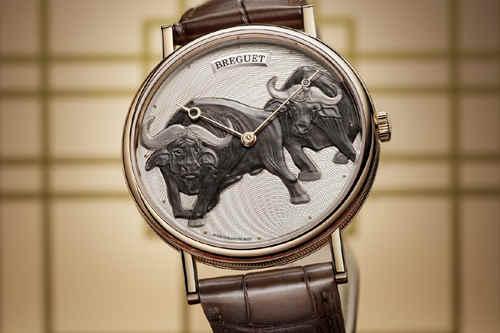 宝玑Classique经典系列7145辛丑年生肖腕表 把两头牛戴在腕上