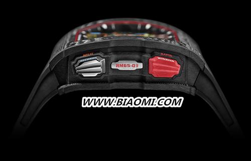 RICHARD MILLE 推出全新RM 65 01自动上链双秒追针计时码表 RM 65 01 RICHARD MILLE 名表赏析  第3张