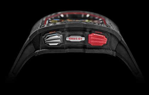 RICHARD MILLE 推出全新RM 65-01自动上链双秒追针计时码表