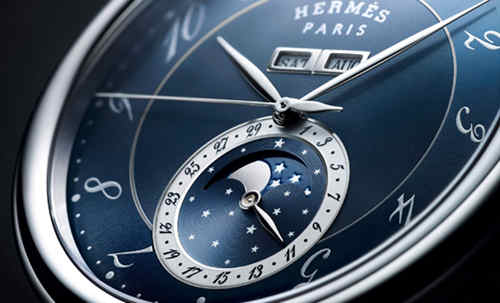 爱马仕推出全新Arceau Grande Lune月相腕表