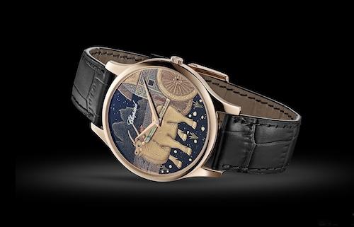 萧邦推出 L.U.C XP 牛年莳绘腕表